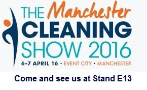 CLEANING SHOW LOGO WITH STAND